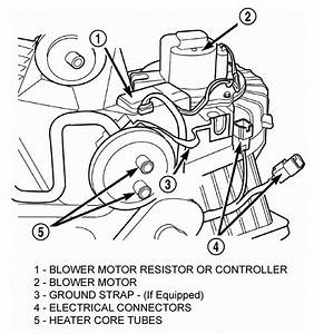 97 Grand Cherokee Blower Motor Wire Diagram