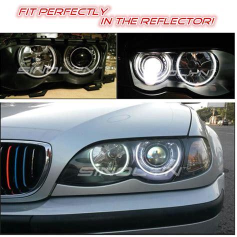e46 xenon bmw headlights bi lens projector m3 metal retrofit non