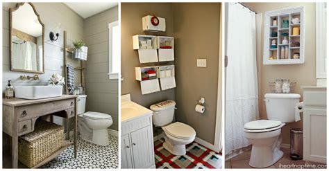 23 Creative Small Bathroom Storage Ideas Over Toilet