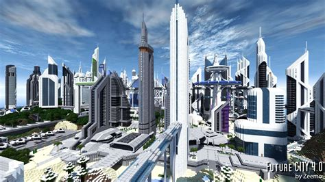 future city v4 1 minecraft building inc