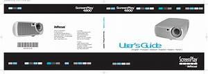 Infocus Screenplay 4800 Users Manual
