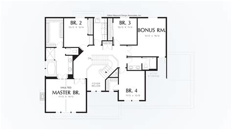 Craftsman House Plan 22113 The Carlton: 2966 Sqft 4 Beds