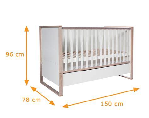 toddler mattress dimensions natura scandinavian convertible cot bed funique co uk