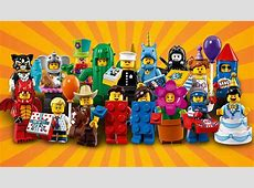 First photos of the partythemed LEGO Minifigures Series 18