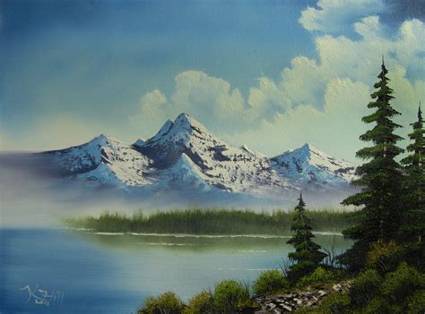 Landscape Oil Painting  Paint With Kevin