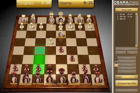 obama schaken spel funnygamesnl