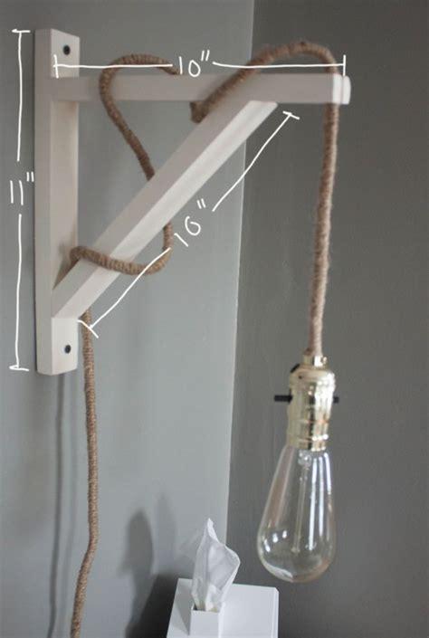 crafty industrial illuminators diy wall l