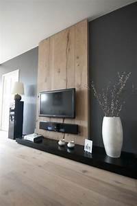 Moderne Wandgestaltung Bad : die besten 25 tv w nde ideen auf pinterest tv wandpaneel fernseh schr nke und tv ~ Sanjose-hotels-ca.com Haus und Dekorationen