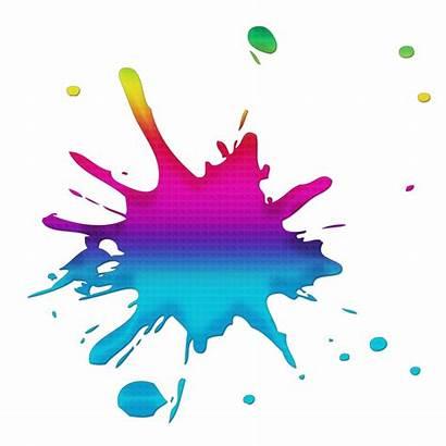 Splash Colour Colours Clipart Splatter Ink Splat