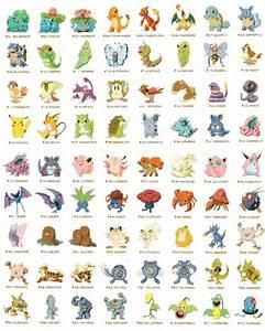 all pokemon names