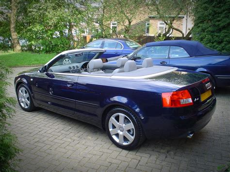Our Audi A4 Cabriolet Ended Up As A 2005 2 4 Litre V6