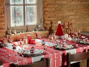 Table De Noel Traditionnelle : d co de table de no l 10 ambiances de f tes pour le ~ Melissatoandfro.com Idées de Décoration