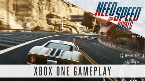 need for speed xbox one need for speed rivals xbox one gameplay