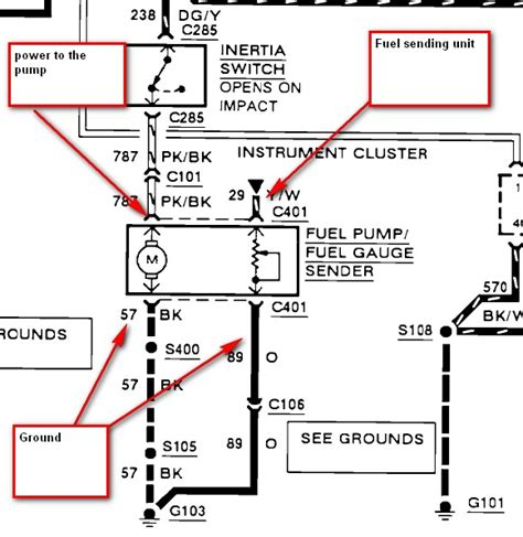 1995 Ford Ranger Wiring Diagram Vs by On My 1991 Ford Ranger The Wiring Harness That Plugs Into
