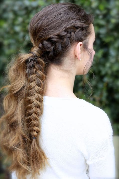 viking braid ponytail ponytail ideas and more hairstyles