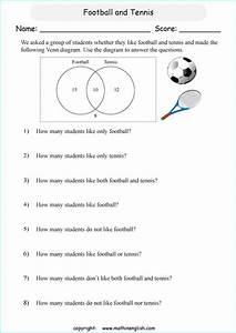 Using Venn Diagrams Problems Independent Practice Worksheet 2 Answers