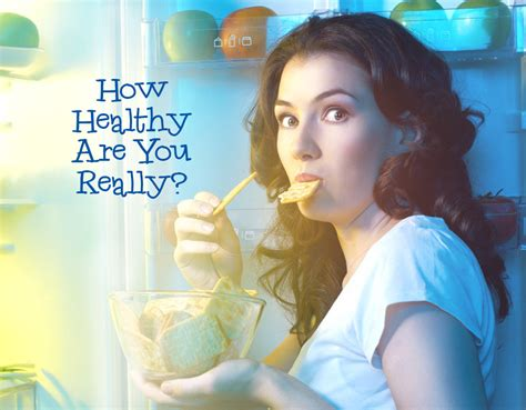 How Healthy Are You Really?  Quiz Zimbio