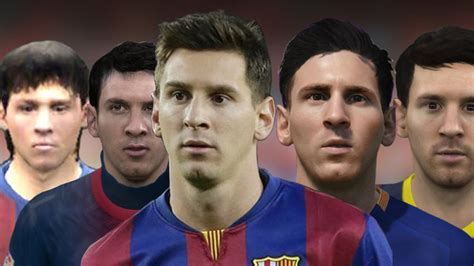 Lionel Messi From Fifa 06 To 16