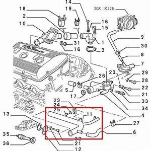 Alfa Romeo Engine Cooling Diagram