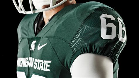 michigan state football updates nike uniform design nike