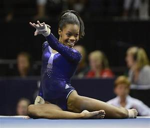 Gabby Douglas is happy to be 'Flying Squirrel'