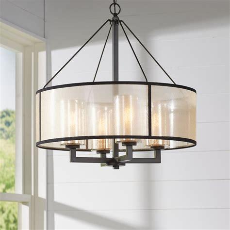 preston  light drum chandelier reviews joss main
