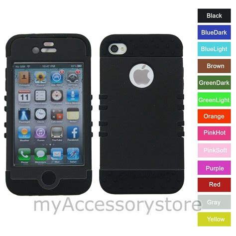 Rubber Iphone 4 Iphone 4s for iphone 4s 4 black rkr rubber hybrid rugged