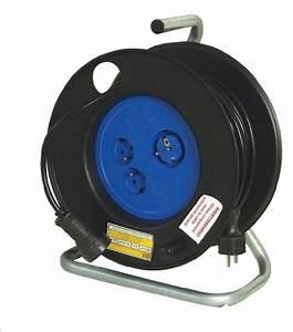 Enrouleur De Cable Electrique : enrouleur electrique 50m pas cher ~ Edinachiropracticcenter.com Idées de Décoration