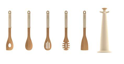 ustensile de cuisine joseph joseph design ustensile de cuisine elevate wood set 5 pièces sur