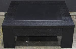square coffee table with glass insert hayman timber stained square coffee table with glass