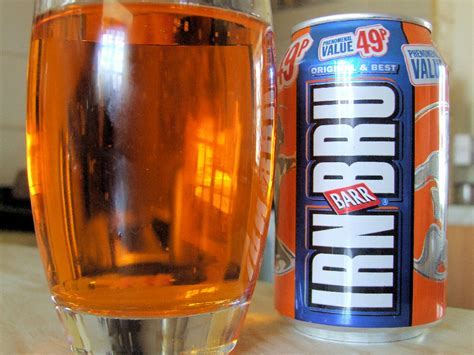Iron Brew   Made in Scotland from Girders   We are not Foodies