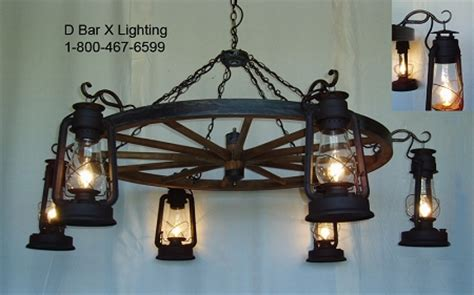 ww036 rustic wagon wheel chandelier light fixture with