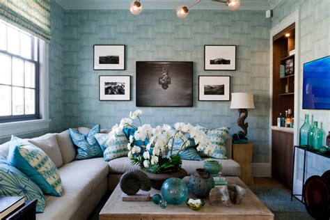 Idea For Small Kitchen - blue color decoration ideas for living room small design ideas