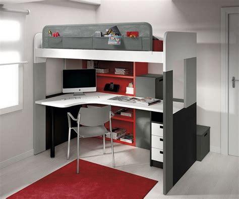 bureau 3 places lit mezzanine 2 places ikea troms with lit mezzanine 2