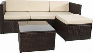 Sitzgarnitur Garten Rattan : lounge sofa outdoor online bestellen bei yatego ~ Indierocktalk.com Haus und Dekorationen