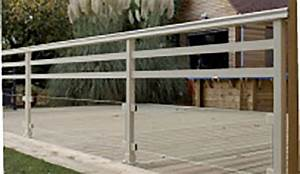 Garde Corps Terrasse Aluminium : les gardes corps et grilles de d fense ~ Melissatoandfro.com Idées de Décoration