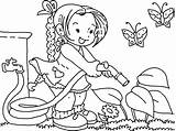 Coloring Gardening Clipart Watering Flower Printable Spring Nutcracker Line Colouring Clip Student Bestcoloringpagesforkids Fairy Pluspng Holiday Preschool Grade Using Cliparts sketch template