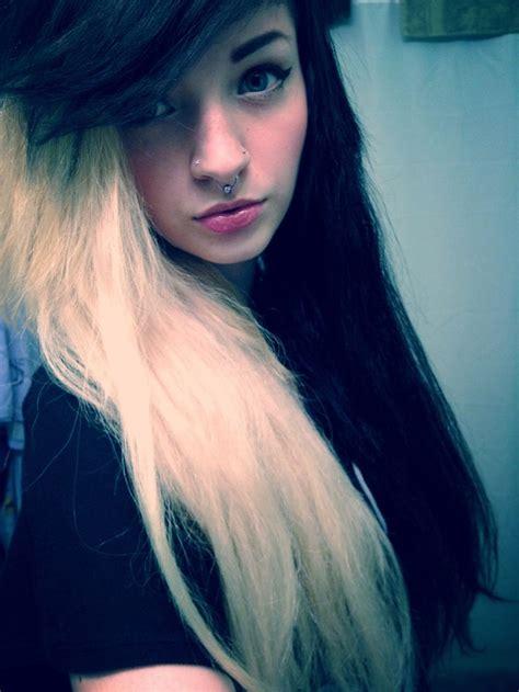 Black And White Emo Hair Mungfali