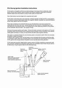 Pvl Racing Ignition Installation Instructions