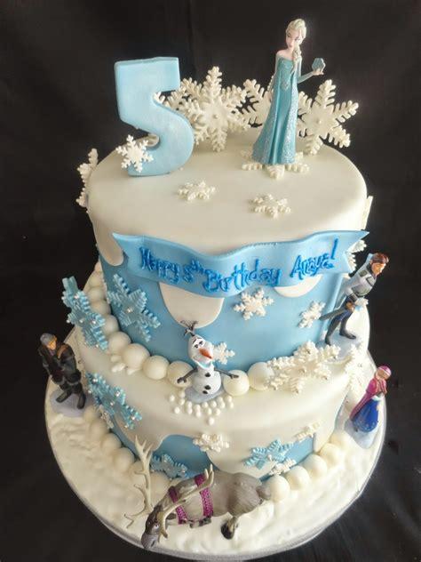 Pink Little Cake Frozen Theme Cake