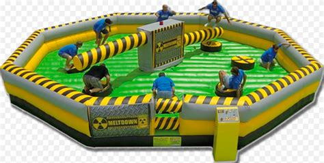 wipeout ride mechanical inflatable double amusement carnival