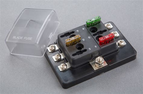 2/4/6/8/10/12 Way Auto Fuse Box Standard Relay Type Car