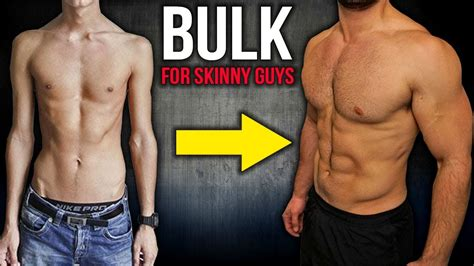 How to Build Muscle and BULK For SKINNY GUYS (Workout and ...