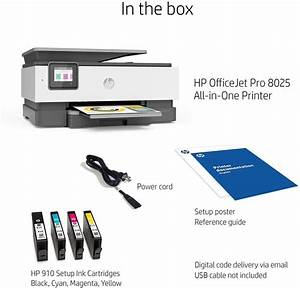 The Hp Officejet Pro 8025 All