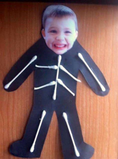 skeleton crafts ideas preschool october 124 | d45b0123de8633e16601cfc46fcc9da0