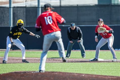 iowa baseball doubleheader cal state northridge