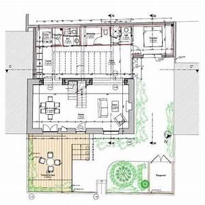 Plan De Maison D Architecte : plan d 39 architecte maison contemporaine ~ Melissatoandfro.com Idées de Décoration