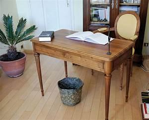 Bureau Ancien En Bois : toilettage d un bureau louis xvi l 39 atelier bois ~ Carolinahurricanesstore.com Idées de Décoration