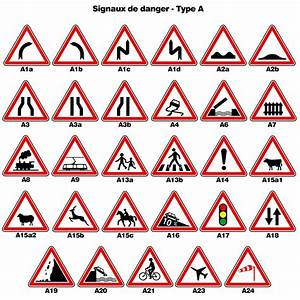 Panneau De Signalisation Code De La Route : panneaux de signalisation de police des signaux de danger de type a ~ Medecine-chirurgie-esthetiques.com Avis de Voitures