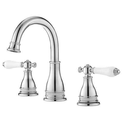 Bathroom Sink Fixtures by Pfister Sonterra Polished Chrome 2 Handle Widespread